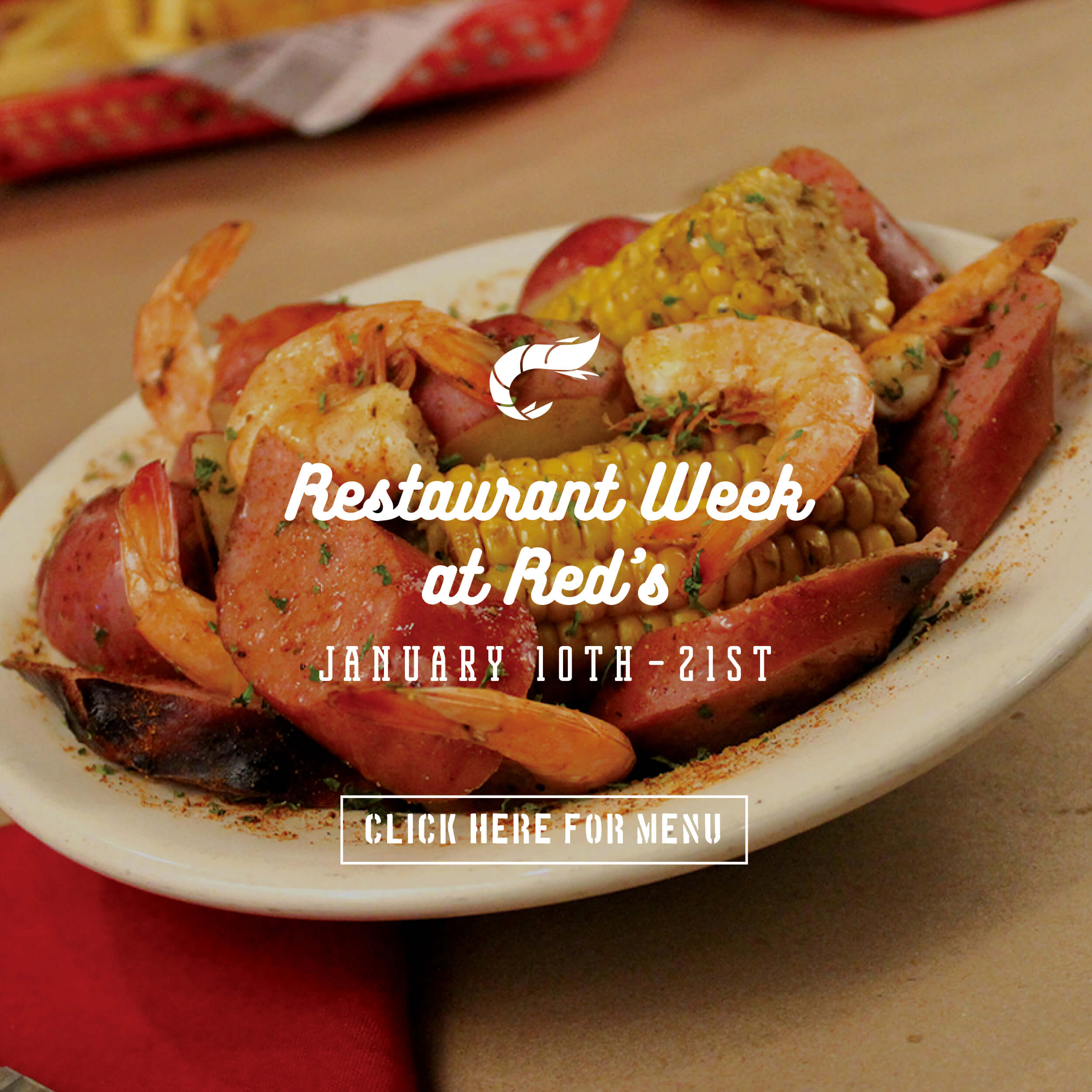 Charleston Restaurant Week 2018 Red's Ice House